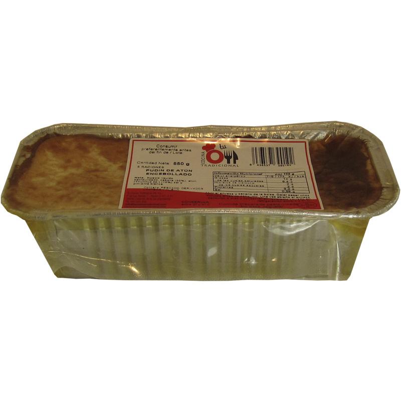 PUDIN DE ATÚN ENCEBOLLADO 550 g