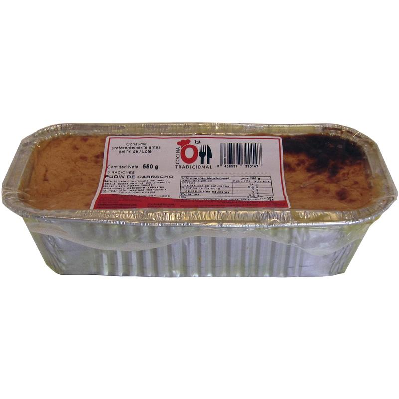 PUDIN DE CABRACHO 550 g