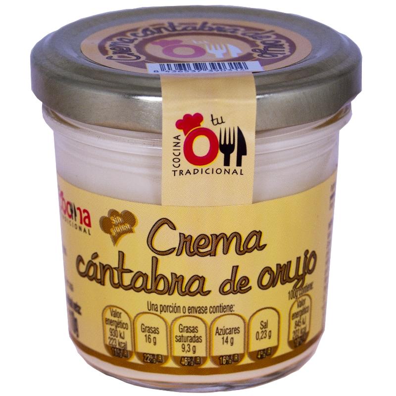 CREMA CANTABRA DE ORUJO 110 g
