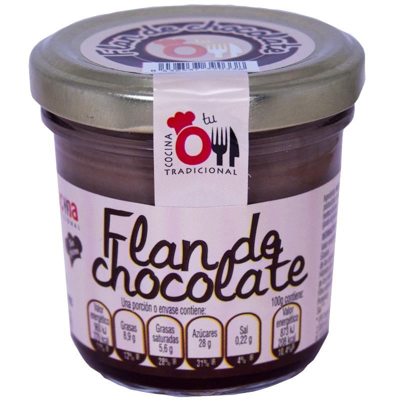 FLAN DE CHOCOLATE 110 g