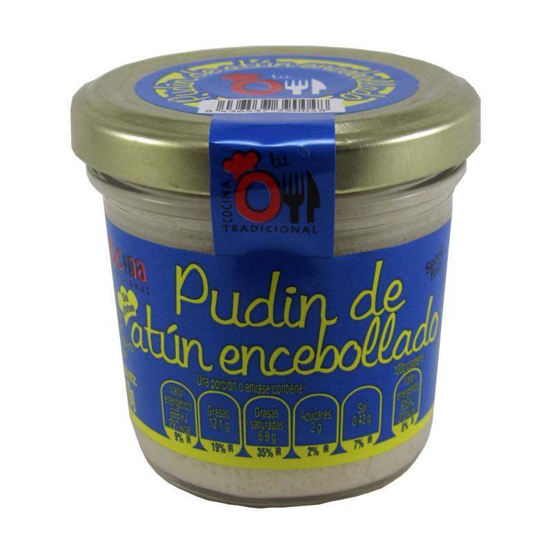 PUDIN DE ATUN ENCEBOLLADO 110 g