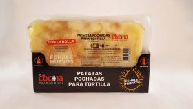 Preparado de PATATA para TORTILLA CON CEBOLLA 500 g