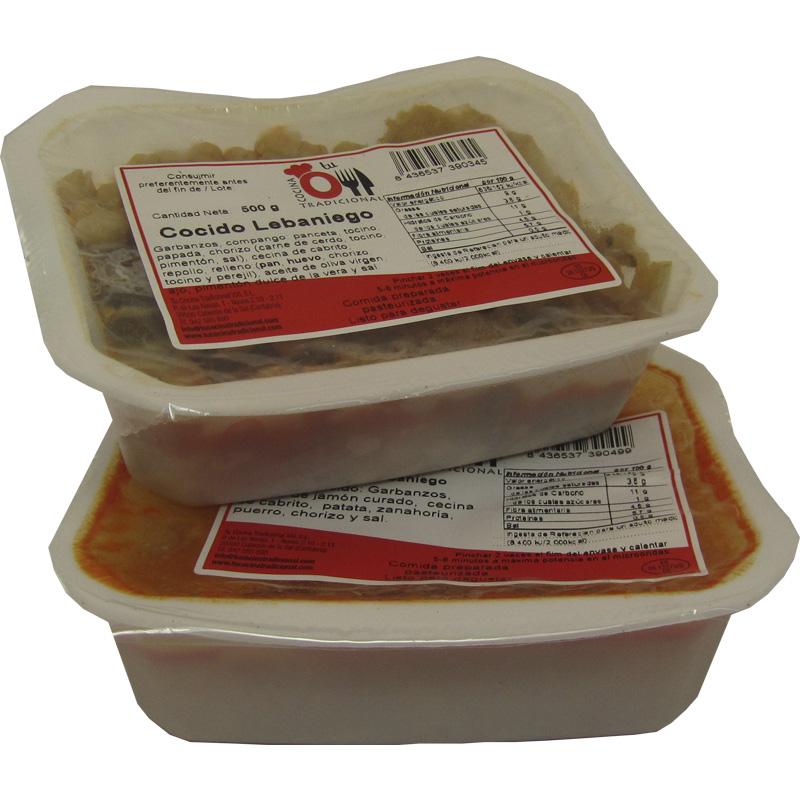 COCIDO LEBANIEGO 450 g + Caldo para sopa 400 g